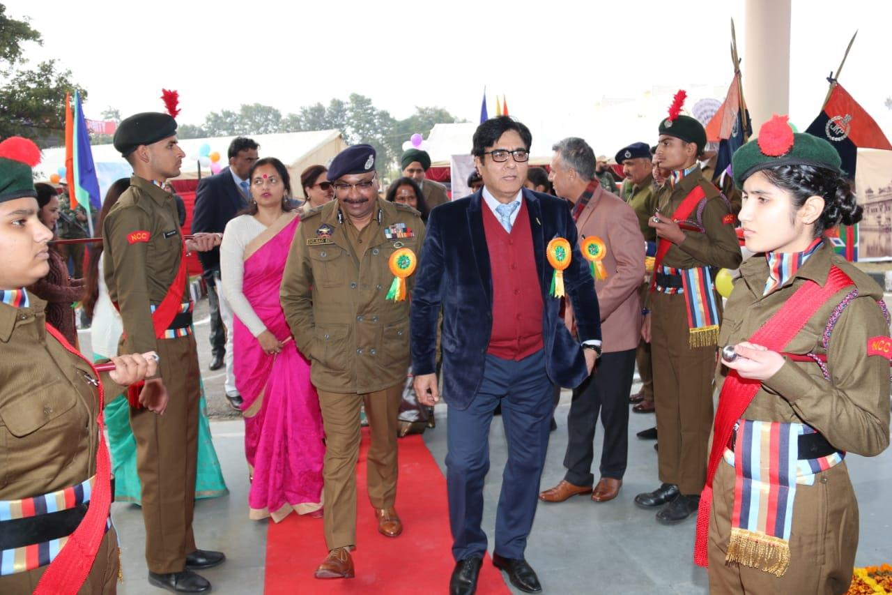 Annual Day function celebrated by JKPPS at Police Auditorium Jammu.